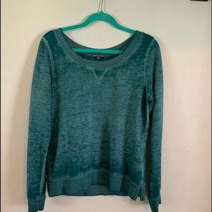 Threads4Thought Comfy Soft Teal Sweater Medium
